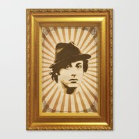 rocky Canvas Prints featuring Rocky by Durro