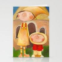 mom Stationery Cards featuring Mom by Gabriela Granados