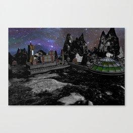 Moon Colony Canvas Print