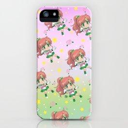 Sailor Jupiter Pattern iPhone Case