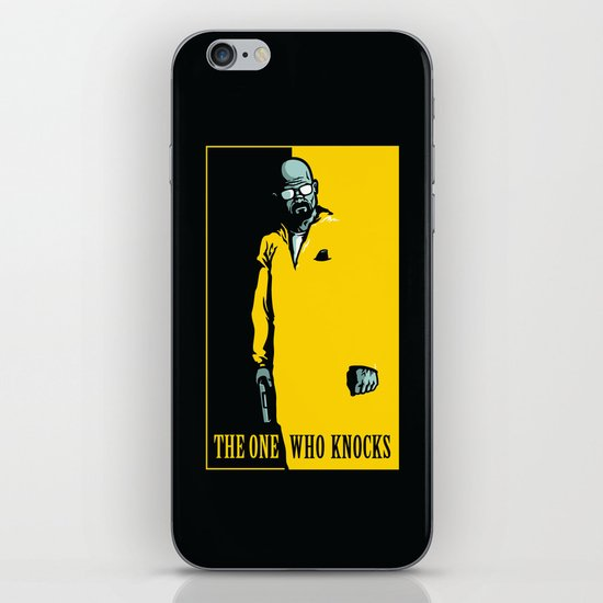 The One Who Knocks iPhone & iPod Skin