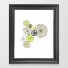 Modern Spiro Art #1 Framed Art Print