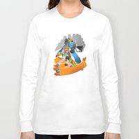 team fortress Long Sleeve T-shirts featuring Ink Fortress 2 by Hexabeast