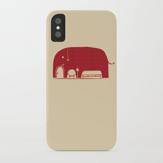 Elephanticus Roomious iPhone Case