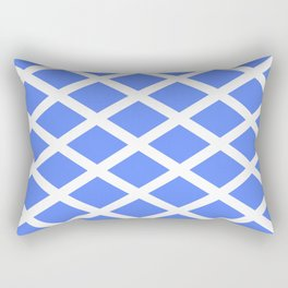 abstraction from the flag of scotland. Rectangular Pillow
