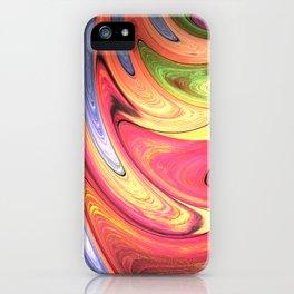 Abstract Streak iPhone Case