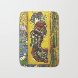 Vincent Van Gogh - Courtesan Bath Mat
