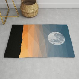 Moon and Evening Rug