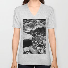 On an afternoon walk Unisex V-Neck