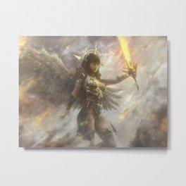 Atma, Archangel of Flame Metal Print
