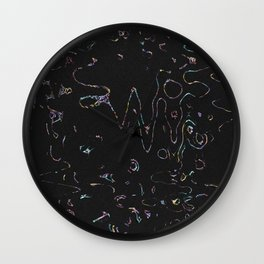 NEW BLACK Wall Clock