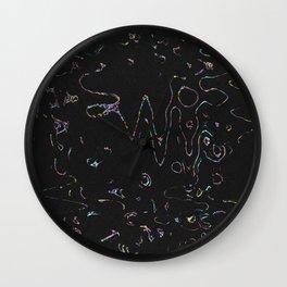 NEW BLACK Wall Clock