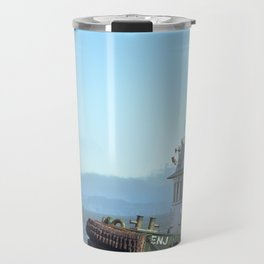 Pilot Boat Bejamin Foss, Columbia River, Astoria, Oregon Travel Mug