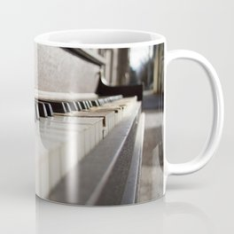 Neglected Piano Coffee Mug