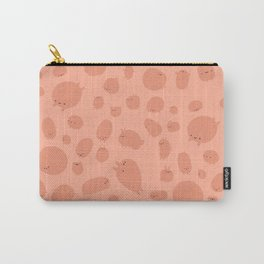 Pink Love Blobs Carry-All Pouch