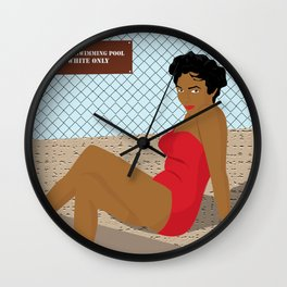 Dorothy Takes a Dip Wall Clock