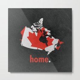 Canada Proud Metal Print