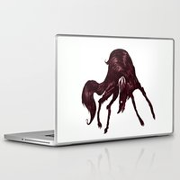 the hound Laptop & iPad Skins featuring Happy Hound  by exeivier