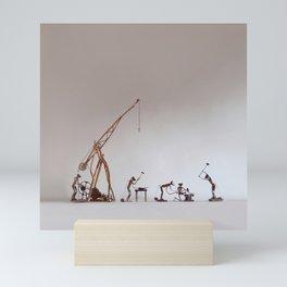 BoneFree's Factory Mini Art Print