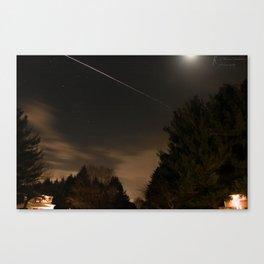 Nighttime Timelapse Canvas Print