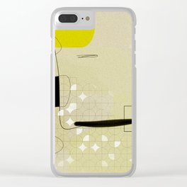 Spirit smiling Clear iPhone Case