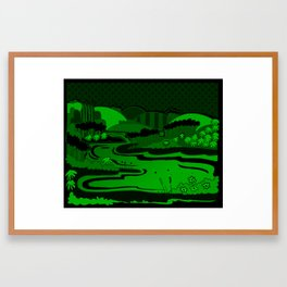 River São Francisco Framed Art Print
