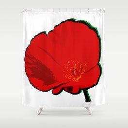 DBM California Poppy 1 Shower Curtain