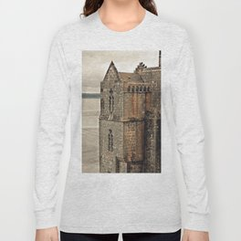 Mont St. Michel - Square Tower - Brittany France Long Sleeve T-shirt