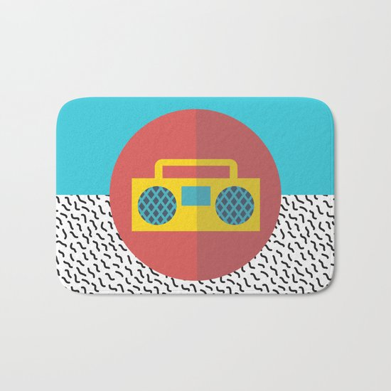 Nice People Like Music Bath Mat