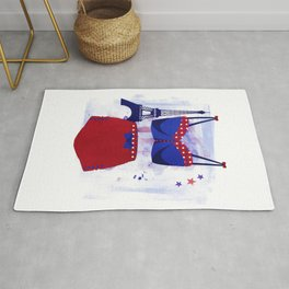 The Bikini Series: Paris Rug