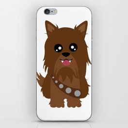 Chewbacca the Yorkie iPhone Skin