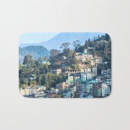 Pastel City : Gangtok Bath Mat