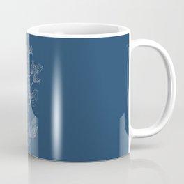 Clematis Blueprint Coffee Mug