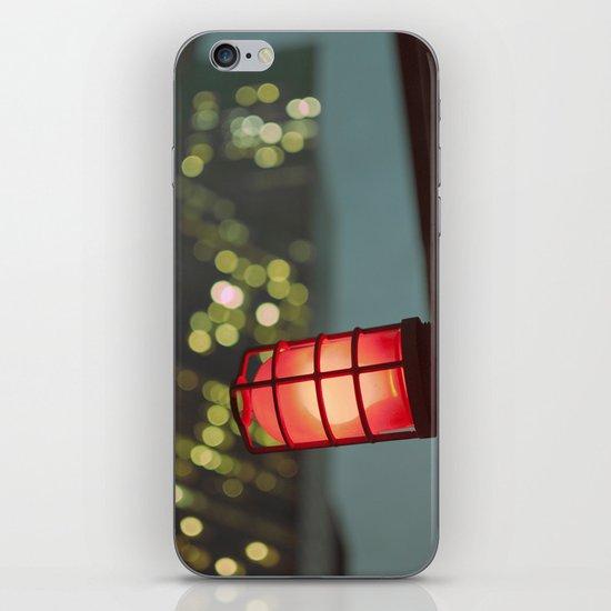modern moonlight... iPhone & iPod Skin