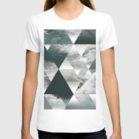 polygon T-shirts featuring Waves polygon by cat&wolf
