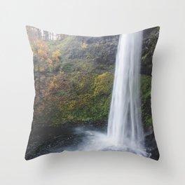 Fall Falls Throw Pillow