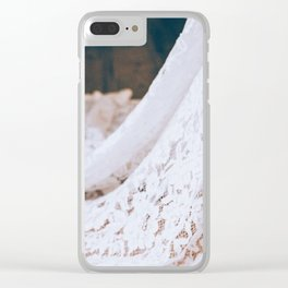 Laced Detail Clear iPhone Case