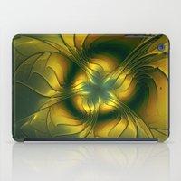golden iPad Cases featuring Golden by gabiw Art