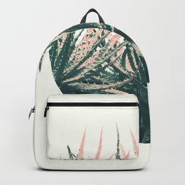 Succulent bowl desert Backpack