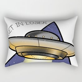 Get in Loser Rectangular Pillow