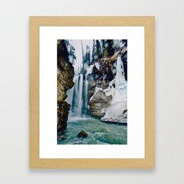 Johnston Canyon Pt.2 Framed Art Print