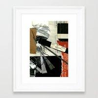 record Framed Art Prints featuring Record by Alyssa Bascom