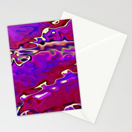 Re-Created Infinity Pool No. by Robert S. Lee  Stationery Cards