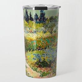 Vincent van Gogh - Garden at Arles Travel Mug