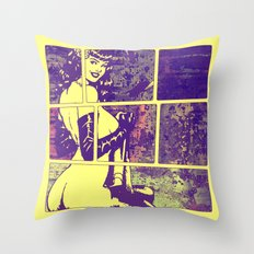 Sexy Berta Throw Pillow