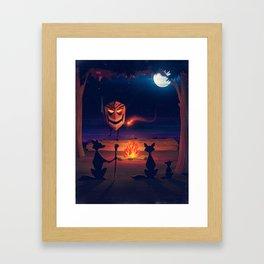 The Woods Framed Art Print