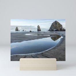 Haystack and the Needles Mini Art Print