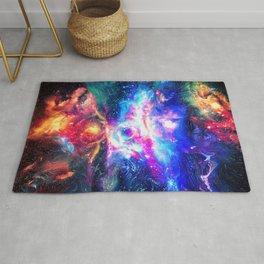 Colorful Galaxy Rug