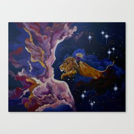 Lily the Lionhearted Canvas Print