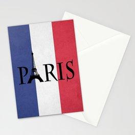 Grunge Paris Stationery Cards